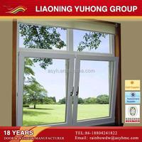 Australian standard AS2047 triple glass double panel pvc tilt and turn window