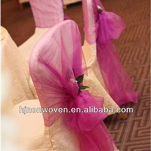 cheap wedding organza chair cover for christmas