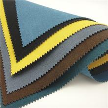 colorido do plutônio corante sintético camurça tecido