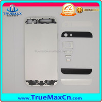 Colorful Phone Back Cover Housing For Apple Iphone 5S Transparent Back Housing