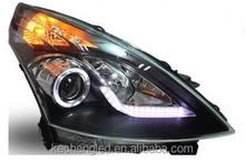 new product 2014 !! ce&rohs car parts 12v headlights Nissan Teana 2013