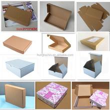 Alibaba custom logo and print 3 layer high quality cardboard box