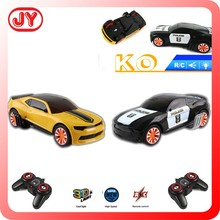 New products 2015 RC car Radio control car battle bounce car with 3D light and music