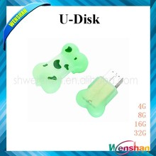 Dog Tag USB, Bone Shape Flash Drive OEM
