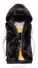 Popular Lady's Fur vest Women's Winter Faux Fur Waistcoat