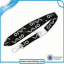 Bulk high quality polyester keyhanger with silkscreen printing