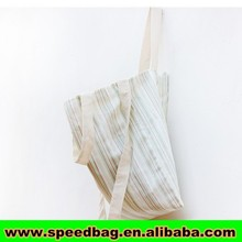 Nautical Striped Large korean tote bag Navy Blue Red Black Beach Bag