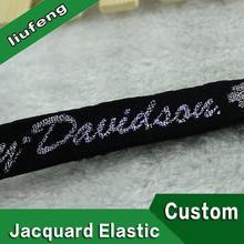 custom logo elastic 10-60 mm men's sexy underwear nylon elastic band