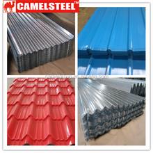 Trade Assurance Supplier CAMELSTEEL color zinc coating tiles
