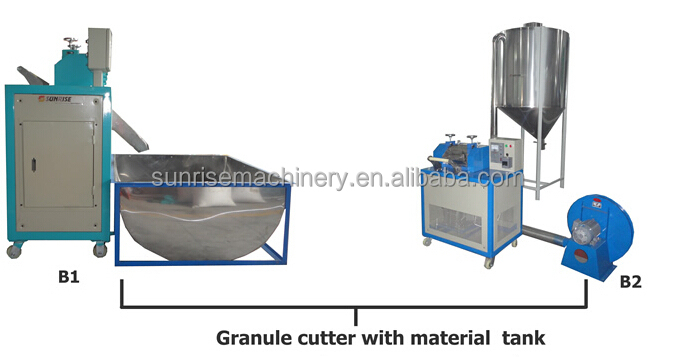 EPS Foam Recycling Pelletizer