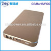 2014 new arrival mobile power bank 5000mah portable charger for mobile phone, samsung S6 S5 S4 S3,camera,PSP,PDA etc