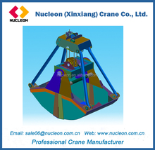 Double Rope Clamshell Grab Bucket for Sale