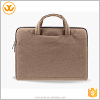 2015 customized design cheap men tote travel neoprene laptop bag