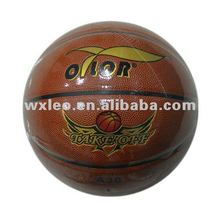 Laminated match PU basketball,high quality basketball,official basketball