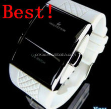 Fashion Style 4 Colors LED Watches Men