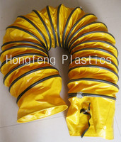 flexible high temperature resistance pipe duct hose fitting air blower