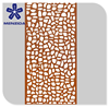 China OEM customized laser cutting decorative metal screen for home
