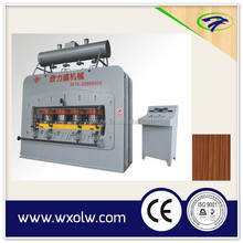1200T 4*8 feet furniture board press machiney melamine