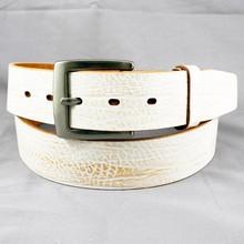 Paint color elegant dainty women lady embroider leather belt