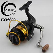 Golden Aluminum Spool Spinning Fishing Reel GO5000