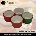 Multicolor ronda mejor hogar utensilio tazas de porcelana utensilio