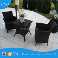 Unique Coffee Table Bedroom Furniture Set with 2 pcs Classic Chairs in Rattan Material VL1147