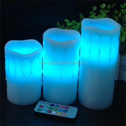 Bars Use and Multi-Colored Color rechargeable flickering led candles jessica 0086-15032098633