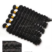 6A Top Grade Full Cuticle Top Quality Deep Wave 100% Virgin Indian Hair