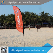 High quality beach flag banner with pole wholesale