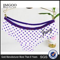 MGOO Stock Clothing 15 Years Old Girls In Underwear Panties Young Girl Dot Print Purple Brief 8011