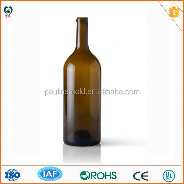 ที่มีคุณภาพสูงขายเช่นเค้กร้อนไวน์บอร์โดซ์750mlขวดแก้ว