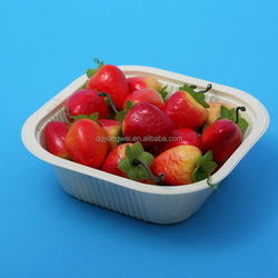 PET Plastic tray for color