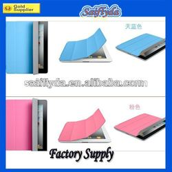 sleep and wake up function smart cover leather case for ipad 2 3 4