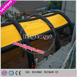 Professional factory hot sale top quality bunker inflatable even tent large