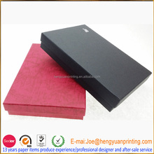 Fancy texture paper small product packaging box for gift/scarves paper packaging box