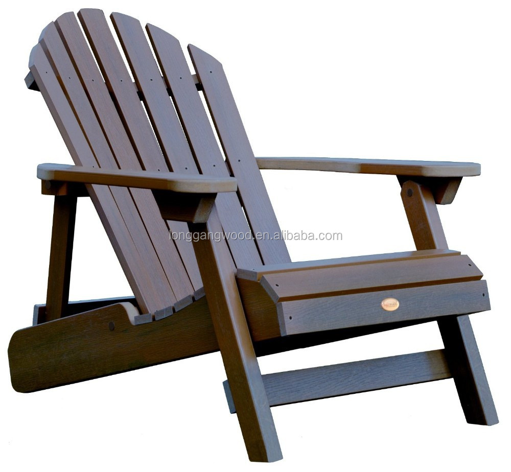 Hot sale new product for folding wooden adirondack