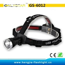 GS-6012 1000LM CRE XML T6 LED Zoomable Headlamp/Bicycle Lights Torch Flashlight