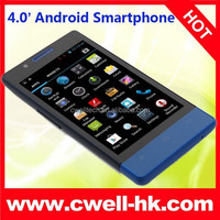 4 Inch Touch Screen H3039 MTK6572 Cheap Android 4.4 Smart Mobile Phone