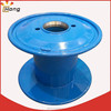 double layer bobbin for wire drawing or stranding