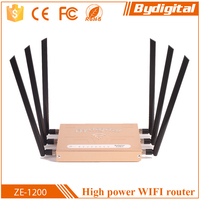 Bydigital 2.4G+ 5.8G Dual band 802.11a/b/g/n/ac gateway network routers, wireless networking equipment, 1200mbps wireless rotuer