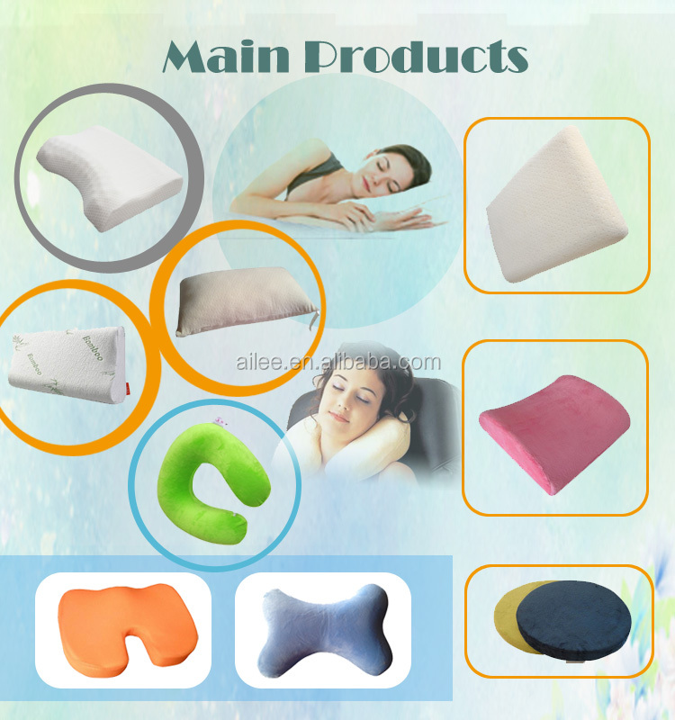 custom memory foam head massage pillow in nantong