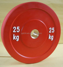 gym weight plates / rubber weight plates / barbell