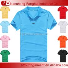 wholesale custom men's polo t shirt