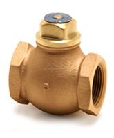 JIS standard ship-building cast bronze swing check valves