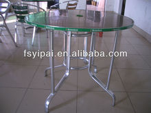 big size stainless steel outdoor table YT90B