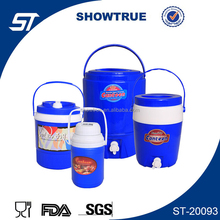 family and travel use plastic thermo water bucket/jug