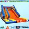 19ft tall inflatable super slide for children with long landing area for safety