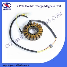 DC 17 Pole Double Ignition Charger Motorcycle Magneto Stator Coil