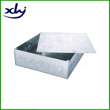 Middle east square metal surface-mounted pull boxes with covers