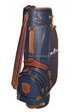 Customized PU and leather Golf Cart Bag Manufacturer
